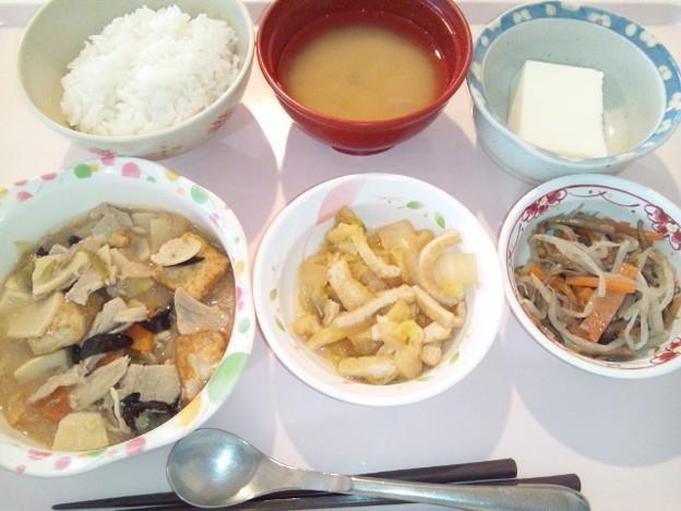 1月23日昼食(家常豆腐) #病院食