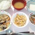 Photos: 1月23日昼食(家常豆腐) #病院食