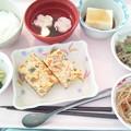 1月25日昼食(千草焼き) #病院食