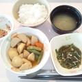 1月26日朝食(イカ団子の煮物) #病院食