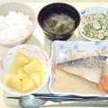 1月26日夕食(鯖のみぞれ煮) #病院食
