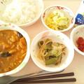 Photos: 2月22日昼食(南瓜ときのこのカレー) #病院食