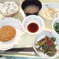 Photos: 2月22日夕食(とんかつ・菜飯) #病院食