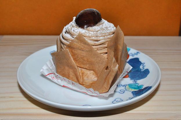 写真: モンブラン ケーキ