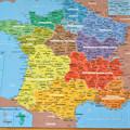 写真: フランス地図_1