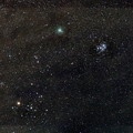 Photos: ウィルタネン彗星(46P)とプレアデス星団(M45)とヒアデス星団