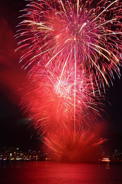 函館開港160周年記念 函館港まつり協賛 第64回道新花火大会