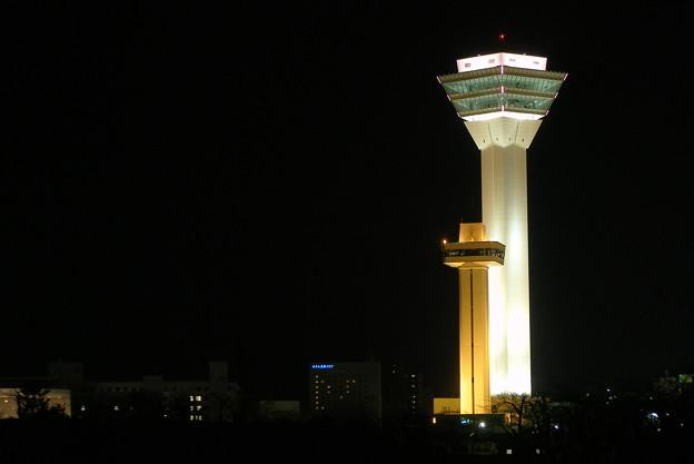 旧・新五稜郭タワー(夜撮影)