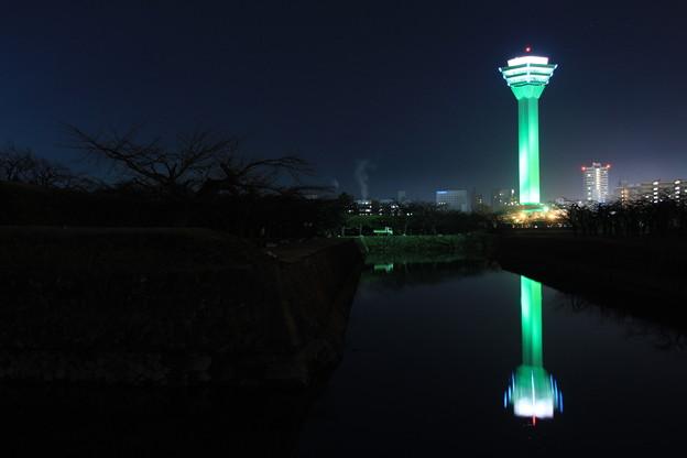 緑内障予防啓発 五稜郭タワー グリーンタワー