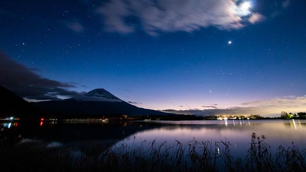 写真: 田貫湖 星景写真 2019