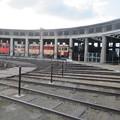 旧津山扇形機関車庫(実物)