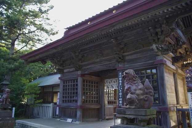 大洗磯前神社 随神門