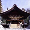 写真: 諏訪大社 下社秋宮 神楽殿