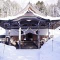 戸隠神社 中社 拝殿