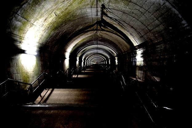 土合駅の階段