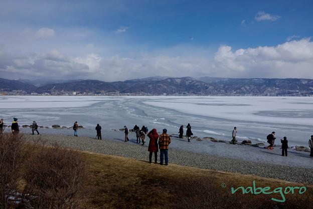諏訪湖御神渡り-3