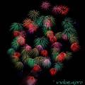 写真: 神明の花火-7