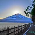 Photos: 今日のダイヤモンド富士