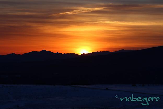 美ヶ原高原日の出