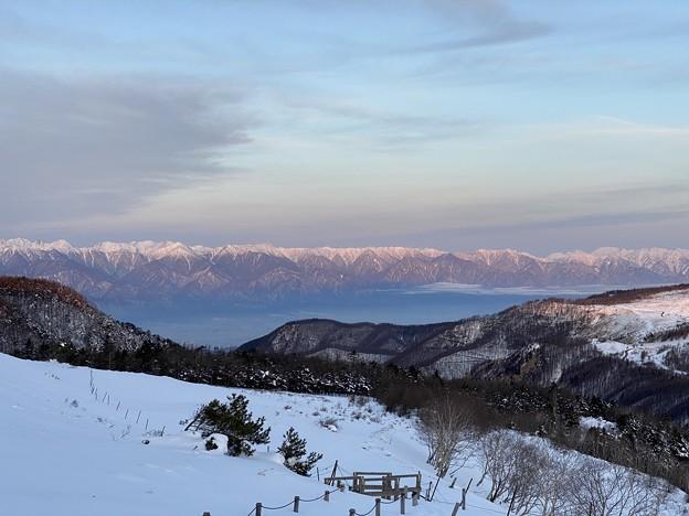 美ヶ原高原からの朝焼け