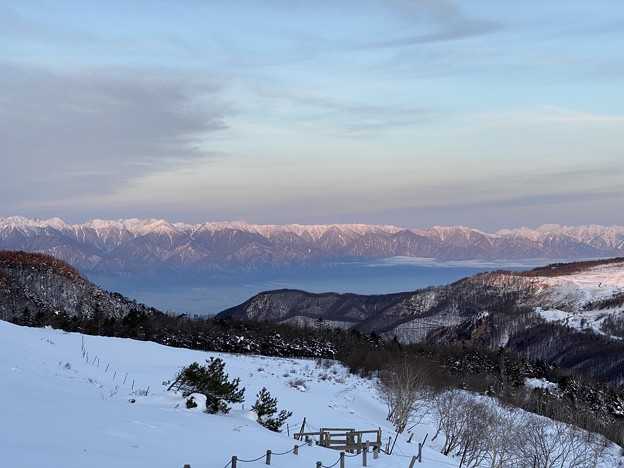 Photos: 美ヶ原高原からの朝焼け