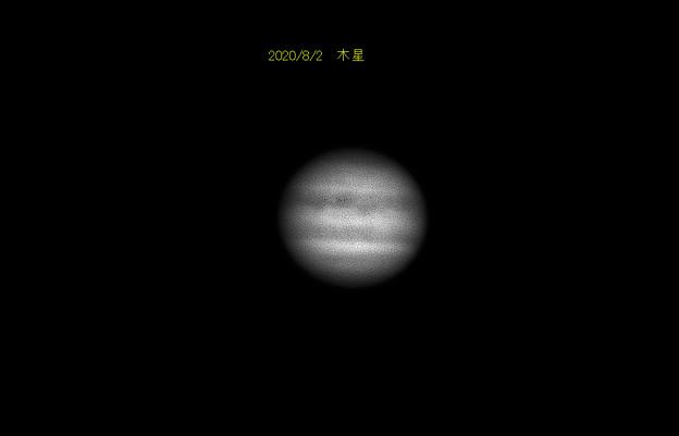 8月2日 木星(拡大)