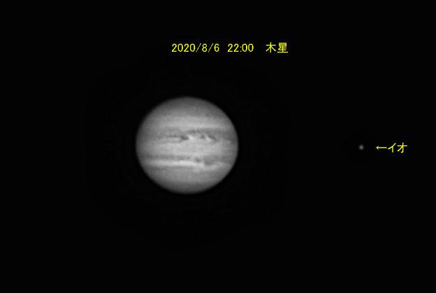 8月6日 22:00 木星