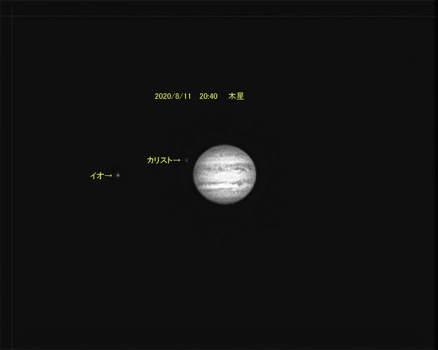 8月11日 木星