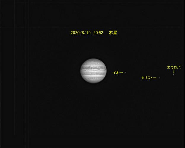 8月19日 木星