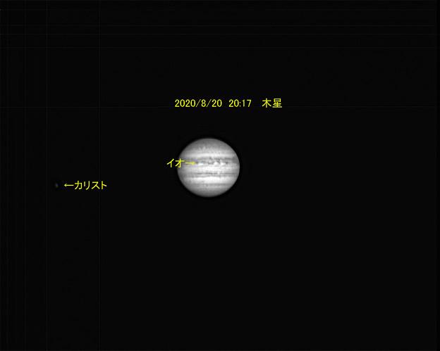 8月20日 木星