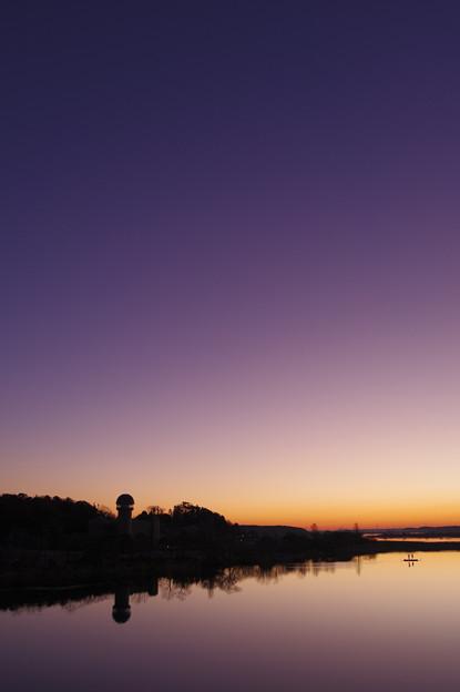 日の出待ち