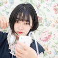 Photos: YO! 聴いてるYO!で聴いてないYO!、ヘッドフォン外してる少女