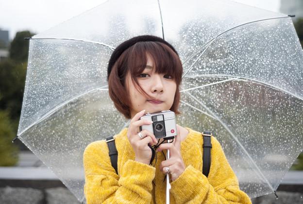 雨の日、ファニーフェイス