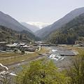 Photos: 大鹿村 大西公園より赤石岳を望む