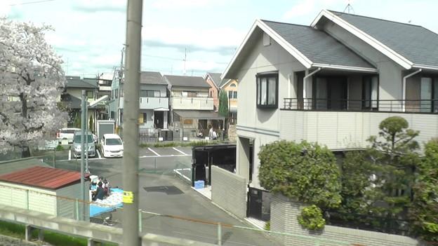 阪急嵐山線の車窓1