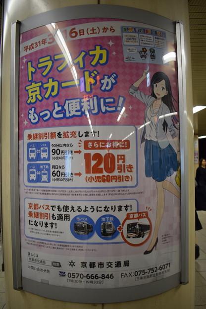 Photos: 地下鉄京都駅の写真0001