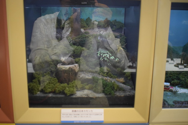 海洋堂フィギュアミュージアム黒壁の写真0346