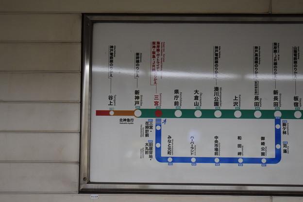地下鉄三宮駅の写真0015