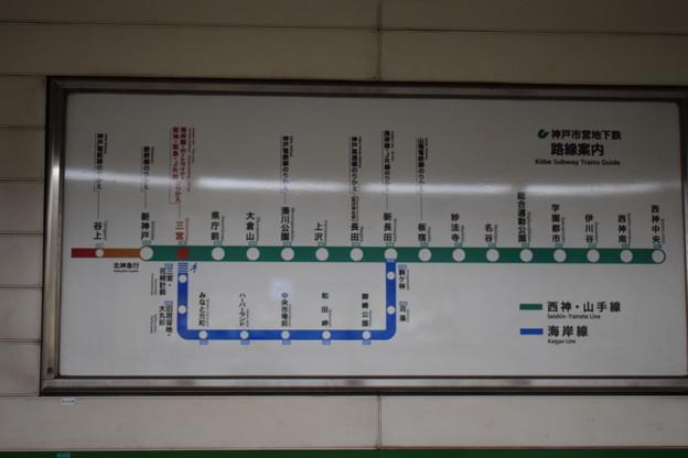 地下鉄三宮駅の写真0023