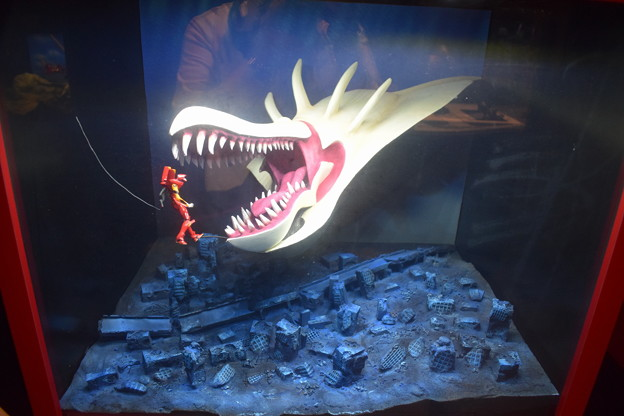 海洋堂フィギュアミュージアム黒壁の写真0426