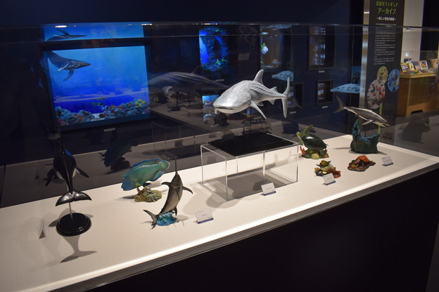 海洋堂フィギュアミュージアム黒壁の写真0655