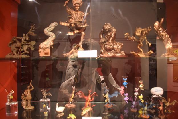 海洋堂フィギュアミュージアム黒壁の写真0669