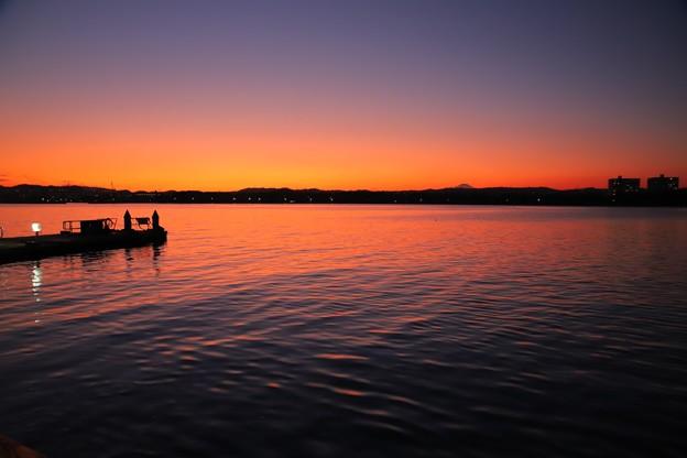 八景島の夕暮れ