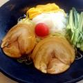 Photos: 【先週の昼飯】岡山市中区神下の、餃子の王将 東岡山店 冷麺 税別600円。 ここは北区にある餃子の王将とは系列が違うみたいだ・・・