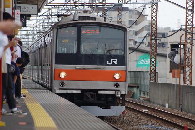 写真: 205系M28編成 (4)