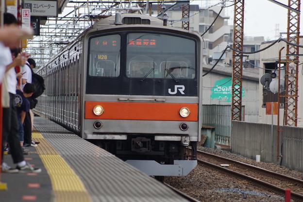 写真: 205系M28編成 (5)