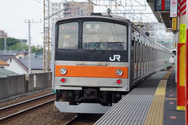 写真: 205系M4編成 (2)