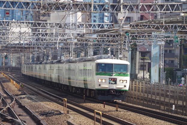 185系OM08編成+C2編成 (3)