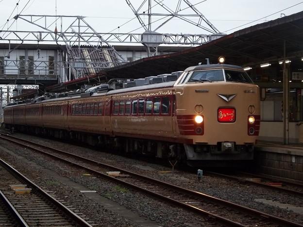 485系A1+A2編成「国鉄特急色」