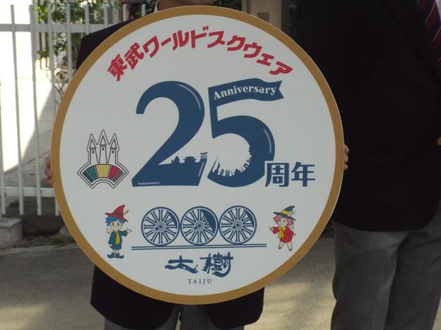 大樹 東武ワールドスクウェア25周年 レプリカヘッドマーク (1)